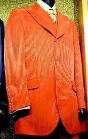 Piece Fashion Suit Orange