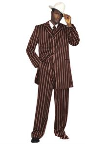 Piece Zoot Suit Notch