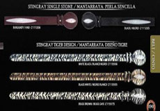 Exotic Belt 15 mantarraya