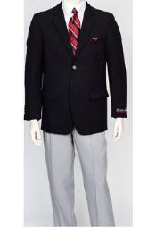 ID#TM15110 Black 2 Button Pacelli Classic Jacket Blair Best Cheap Blazer For Affordable Cheap Priced Unique Fancy For Men Available Big Sizes on sale Men Affordable Sport Coats Sale
