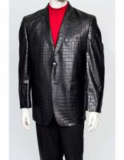 Mens Alligator Jacket Print