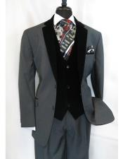 Notch Velvet Lapel 3