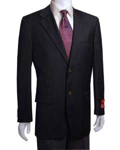 ID#YT441 2-button Dark color black Affordable Cheap Priced Unique Fancy For Men Available Big Sizes on sale Wool fabric Jacket/Sportcoat Jacket ( +Wo)