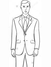Suit Two Button DeZilino