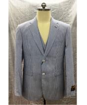 Button  Notch Lapel