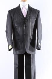 ID#KA0981 Two Button 5 Pcs Boy Dress kids suits available in little boys 3 three piece suit Combo Size From Baby to Teen