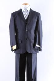 Two Button 5 Pcs Boy Dress kids suits available in little boys 3 three piece suit Combo Size From Baby to Teen