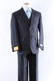 ID#KA9008 Two Button 5 Pcs Boy Dress kids suits available in little boys 3 three piece suit Combo Size From Baby to Teen