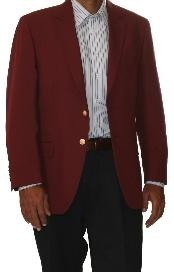 Button Sportcoat Jacket Wool