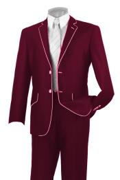 Button Two Toned Suit