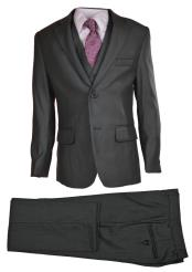 Button 5 Piece Gray
