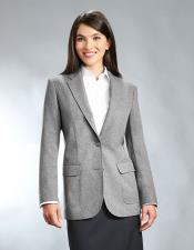 Button Grey 100% Polyester