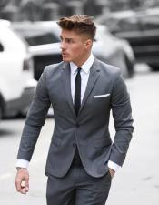 Fit Grey 2 Button