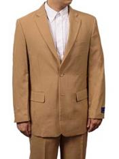 2 Button Khaki Beige