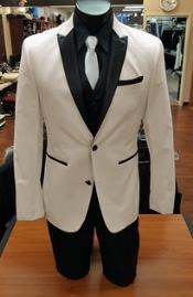 Tan Tuxedo 2 Button