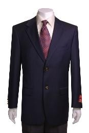 ID#KJ433 2-button Navy Blue Wedding / Prom Wool Jacket / Best Cheap Blazer Suit Jacket For Affordable Cheap Priced Unique Fancy For Men Available Big Sizes on sale Men Affordable Sport Coats Sale