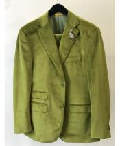 Olive Green green suits