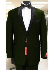 Olive Green Two Button
