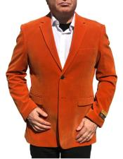 2 Button Orange Blazer