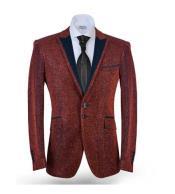 Sport Coat Jacket Red