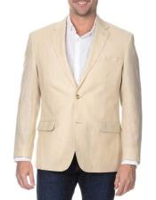 ID#NM504 Sand Rich Wool Notch Lapel 2 Button  Best Cheap Blazer For Affordable Cheap Priced Unique Fancy For Men Available Big Sizes on sale Men Affordable Sport Coats Sale