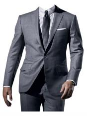 Button Suit  Gray