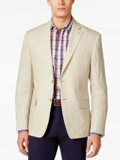 Button Notch Lapel Solid