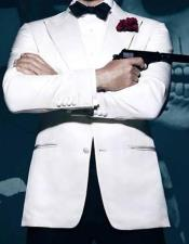 White James Bond 2