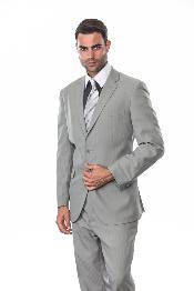 buttons Silver Light Grey
