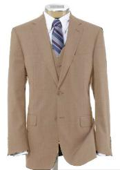 Beige Color Suit