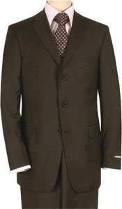 ID#SP5 Basic Solid Plain Coco Chocolate brown crafted professionally Suit Separates, Total Comfort Any Size Jacket&Any Size Pants