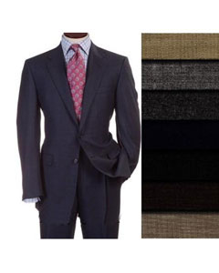 Two Two buttons Style Superior fabric Worsted Vergin Wool fabric Business Suits for Men Comes in 10 colors