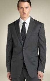 buttons Peak Collared Suit