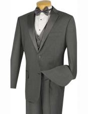 4pc Two Buttons Tuxedo
