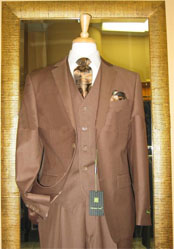 Button 3 Piece Mocca