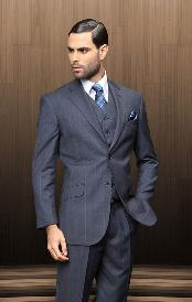 buttons Vested 3 Piece