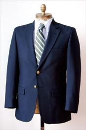 Two buttons Big and Tall Large Man ~ Plus Size Cheap Priced Sport coats - Large Sport Jacket 56 to 80 Wool fabric Suit Navy
