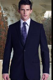 ID#KA1171 Two buttons Superior fabric 150'S 2 PIECE Wool fabric SUIT Side VENT BACK JACKET STYLE WITH 1 Pleated creased PANTS