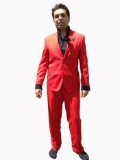 buttons Modern Cut Suit