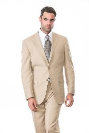 Button Wool Suit