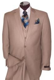 buttons Tan Wedding /