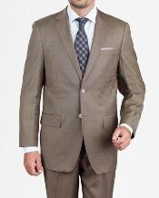 buttons Dark Taupe Suit