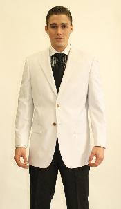 buttons White Dinner Jacket