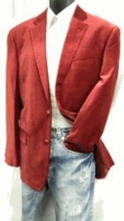 buttons Wine Velvet Sportcoat