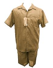 Linen Tan Shirt And