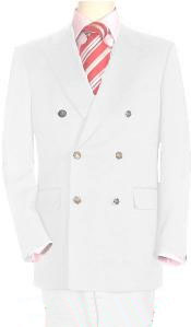 ID#Whe478 High crafted professionally Snow White Double Breasted Best Cheap Blazer ~ Suit Jacket For Affordable Cheap Priced Unique Fancy For Men Available Big Sizes on sale Men Affordable Sport Coats Sale Dinner Jacket