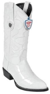 ID#BE7856 Wild West White Eel Western Boots