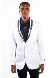 Tuxedo White Flashy Shiny