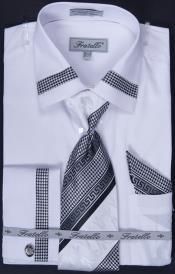 Cuff Dress Shirt Tie