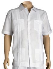 Short Sleeve Linen Cheap